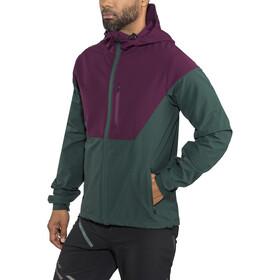 ION Shelter Jakke Herrer grøn/violet